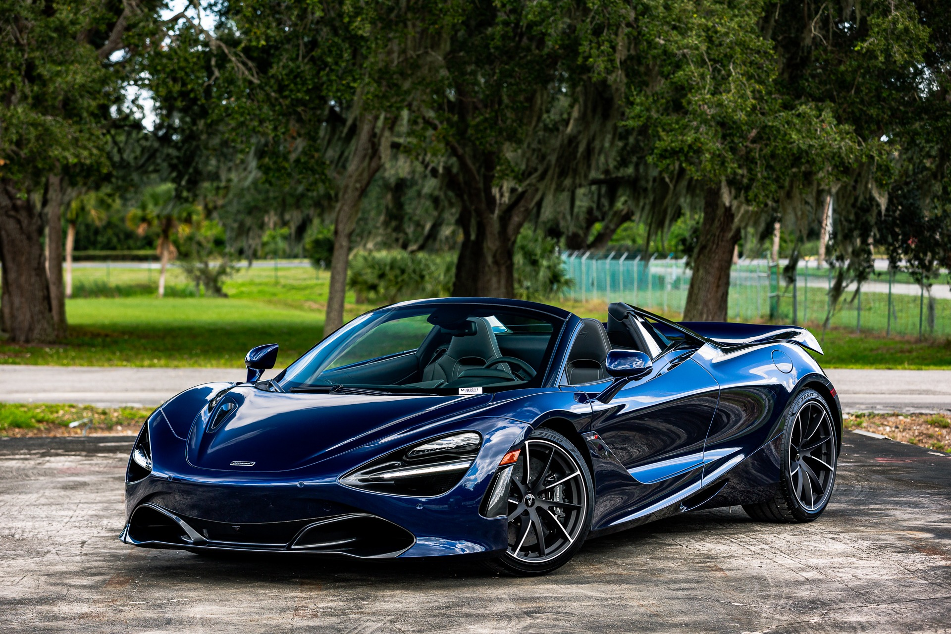 New 2020 McLaren 720S Spider Luxury for sale $360,270 at McLaren Orlando LLC in Titusville FL 32780 1
