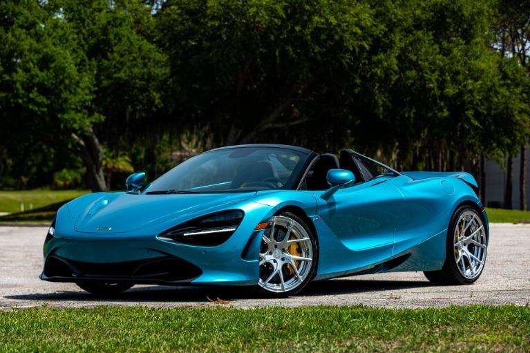 New 2020 McLaren 720S Spider for sale $345,660 at McLaren Orlando LLC in Titusville FL 32780 2
