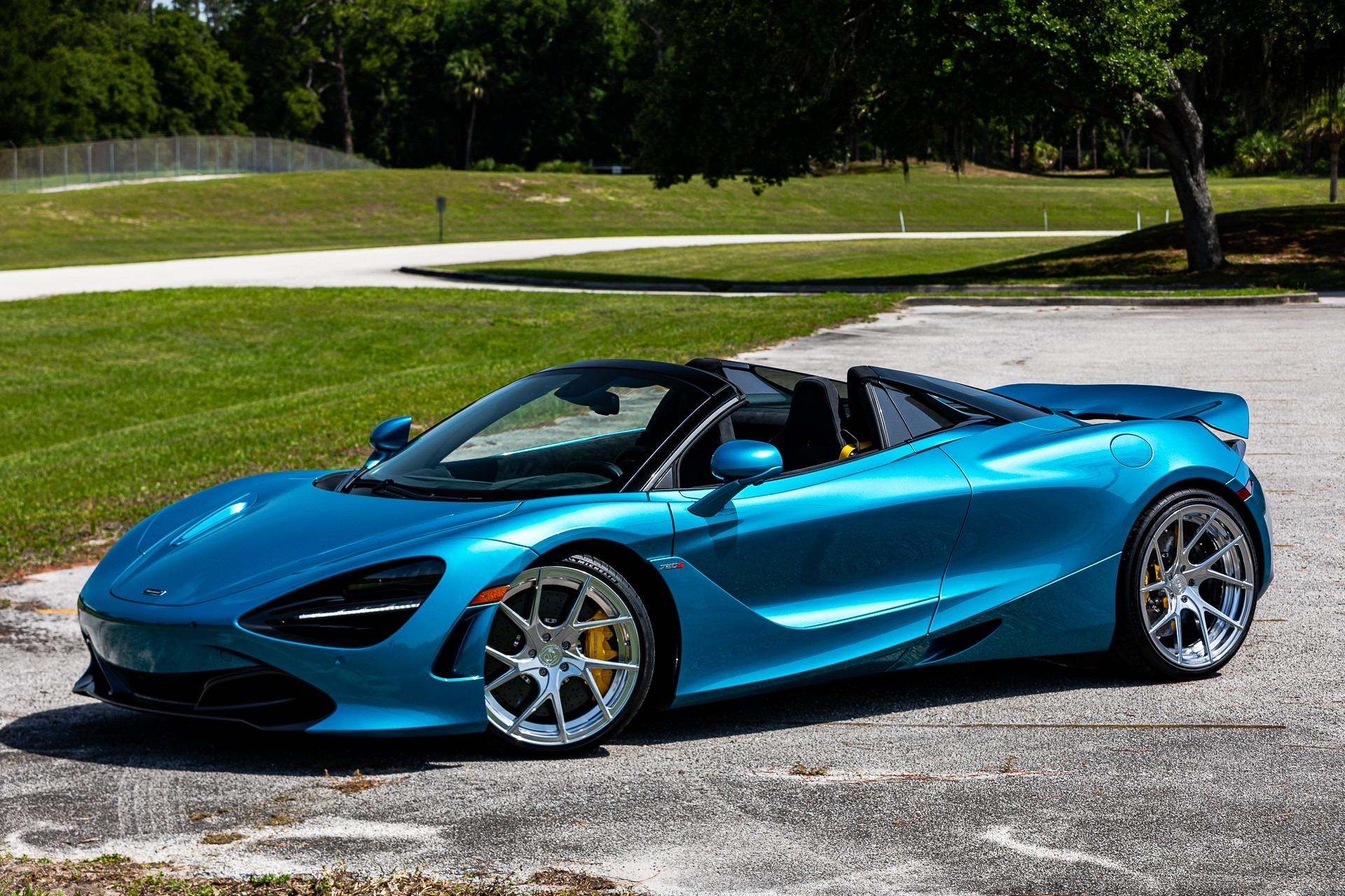 New 2020 McLaren 720S Spider for sale $345,660 at McLaren Orlando LLC in Titusville FL 32780 1
