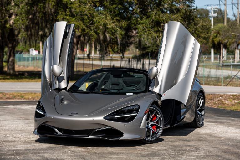 New 2020 McLaren 720S Spider Base for sale $349,980 at McLaren Orlando LLC in Titusville FL 32780 3