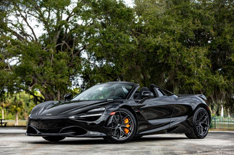 New 2020 McLaren 720S Spider for sale $348,040 at McLaren Orlando LLC in Titusville FL 32780 4