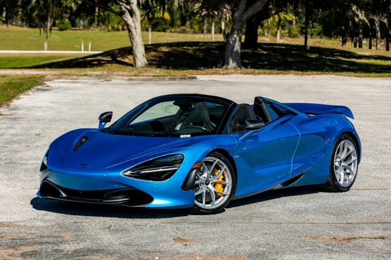New 2020 McLaren 720S Spider Performance for sale $373,980 at McLaren Orlando LLC in Titusville FL 32780 2