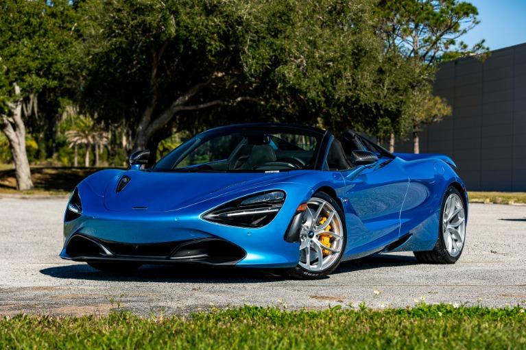 New 2020 McLaren 720S Spider Performance for sale $370,940 at McLaren Orlando LLC in Titusville FL 32780 3