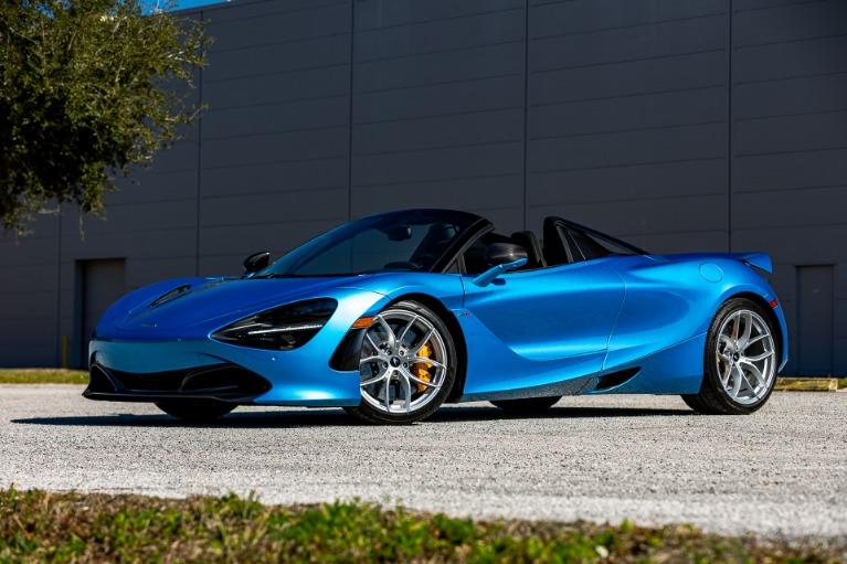 New 2020 McLaren 720S Spider Performance for sale $370,940 at McLaren Orlando LLC in Titusville FL 32780 4
