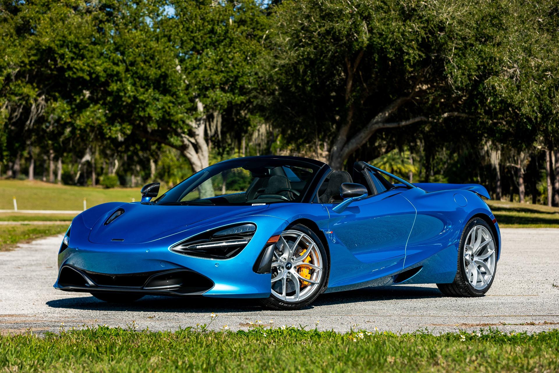 New 2020 McLaren 720S Spider Performance for sale $373,980 at McLaren Orlando LLC in Titusville FL 32780 1
