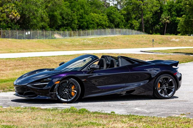 New 2020 McLaren 720S Spider Performance for sale $368,540 at McLaren Orlando LLC in Titusville FL 32780 3