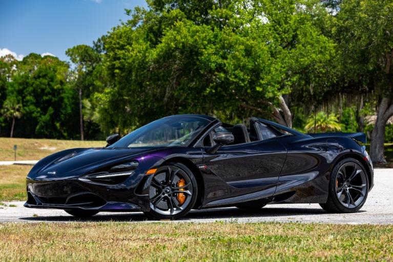 New 2020 McLaren 720S Spider Performance for sale $368,540 at McLaren Orlando LLC in Titusville FL 32780 4