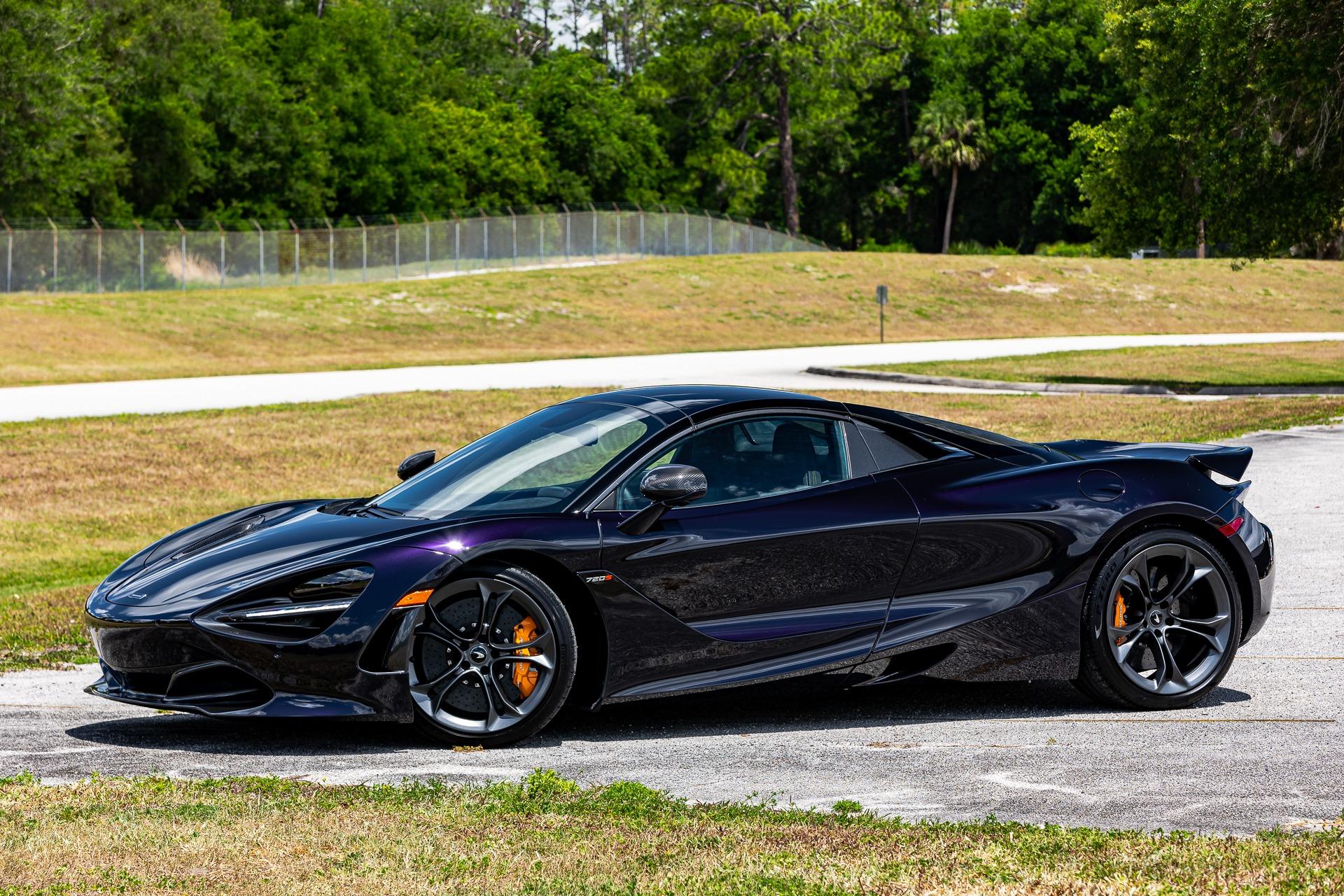 New 2020 McLaren 720S Spider Performance for sale $368,540 at McLaren Orlando LLC in Titusville FL 32780 1