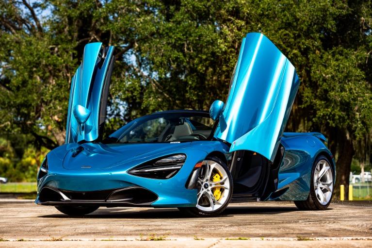 New 2020 McLaren 720S Spider Luxury for sale $354,280 at McLaren Orlando LLC in Titusville FL 32780 2