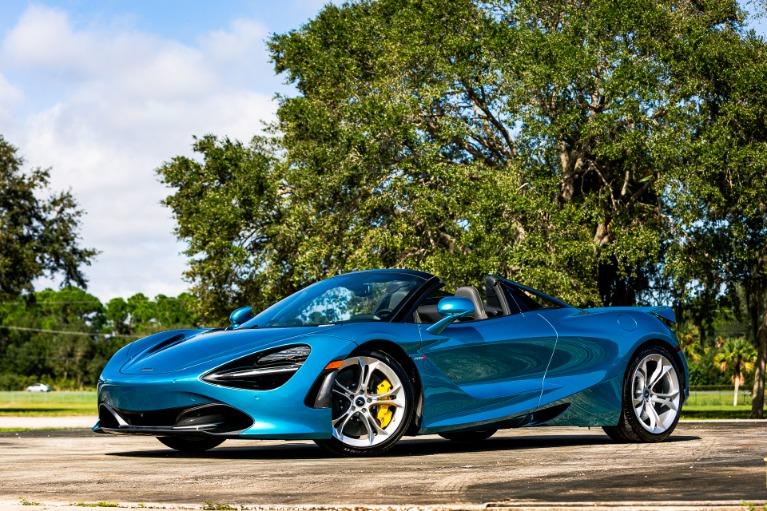 New 2020 McLaren 720S Spider Luxury for sale $354,280 at McLaren Orlando LLC in Titusville FL 32780 4
