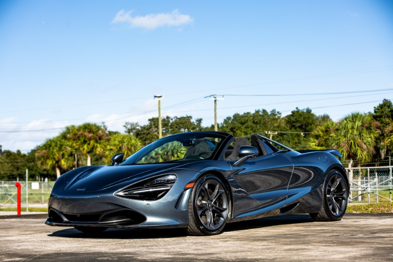 New 2020 McLaren 720S Spider Base for sale Sold at McLaren Orlando LLC in Titusville FL 32780 4