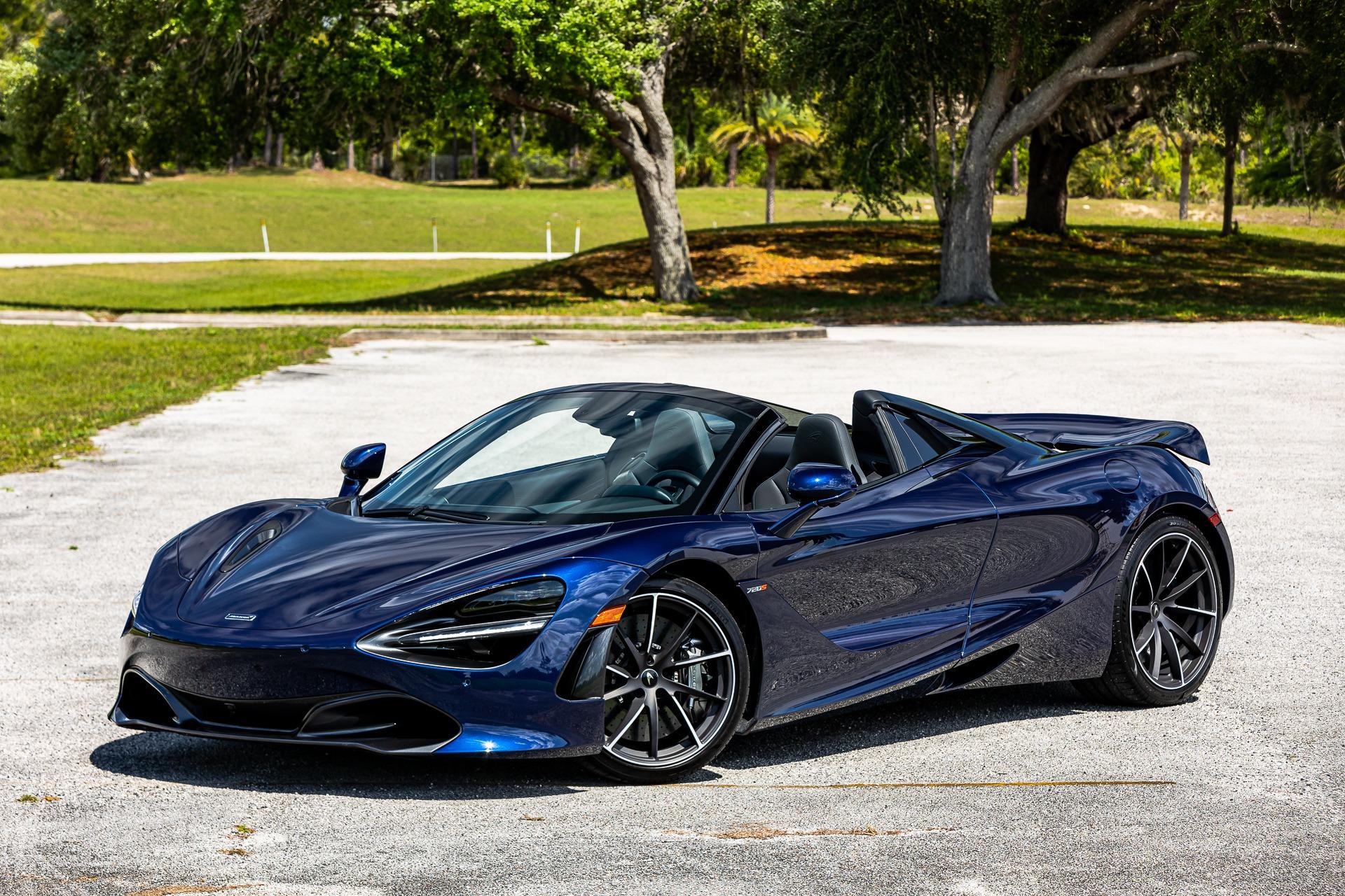 New 2020 McLaren 720S Spider Luxury for sale $359,290 at McLaren Orlando LLC in Titusville FL 32780 1