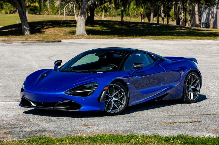 New 2020 McLaren 720S Spider Performance for sale $374,600 at McLaren Orlando LLC in Titusville FL 32780 3