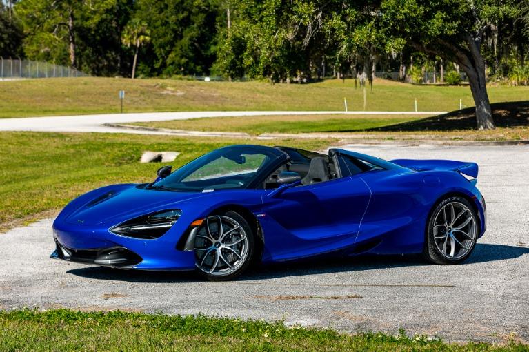 New 2020 McLaren 720S Spider Performance for sale $374,600 at McLaren Orlando LLC in Titusville FL 32780 4