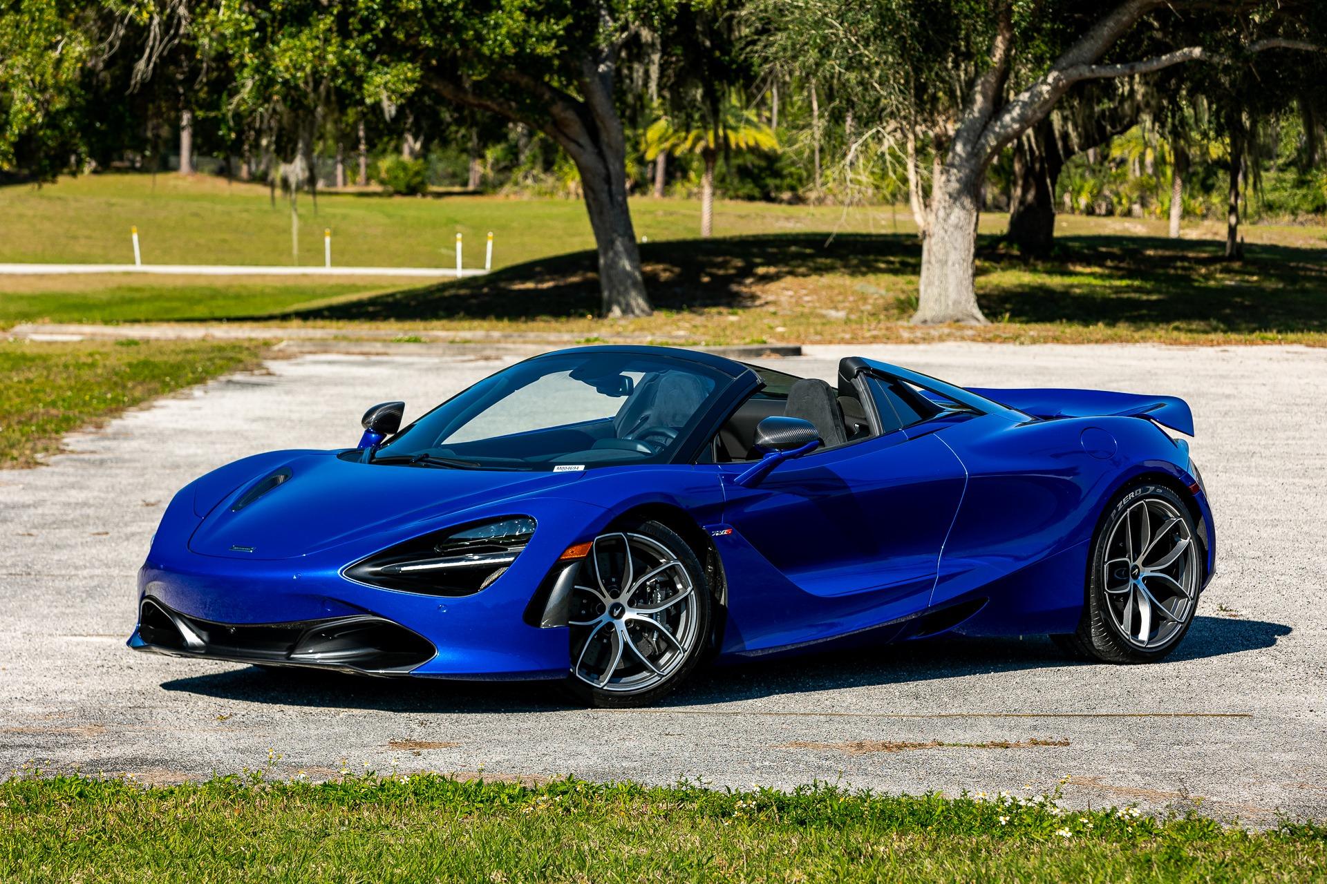 New 2020 McLaren 720S Spider Performance for sale $374,600 at McLaren Orlando LLC in Titusville FL 32780 1