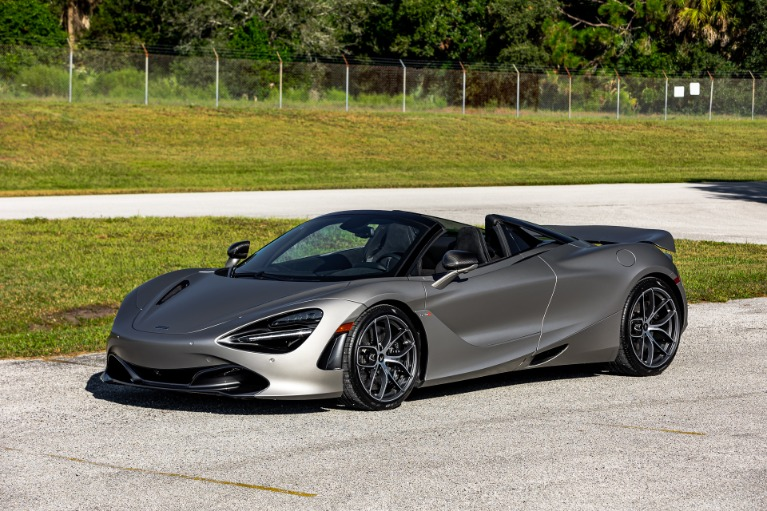 New 2020 McLaren 720S Spider Performance for sale $365,610 at McLaren Orlando LLC in Titusville FL 32780 4