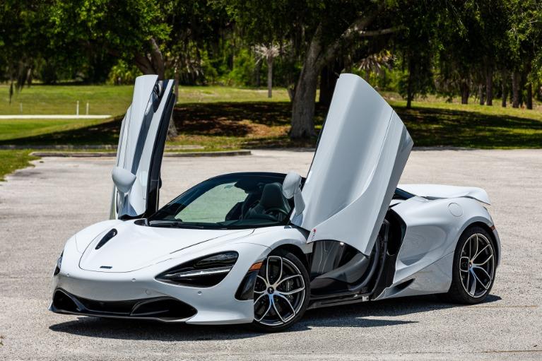 Used 2020 McLaren 720S Spider Luxury for sale $332,880 at McLaren Orlando LLC in Titusville FL 32780 2