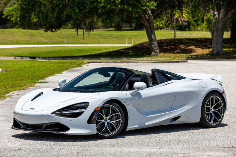 New 2020 McLaren 720S Spider Luxury for sale $364,200 at McLaren Orlando LLC in Titusville FL 32780 3