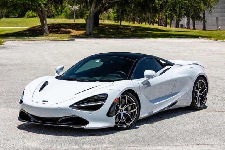 Used 2020 McLaren 720S Spider Luxury for sale $332,880 at McLaren Orlando LLC in Titusville FL 32780 4