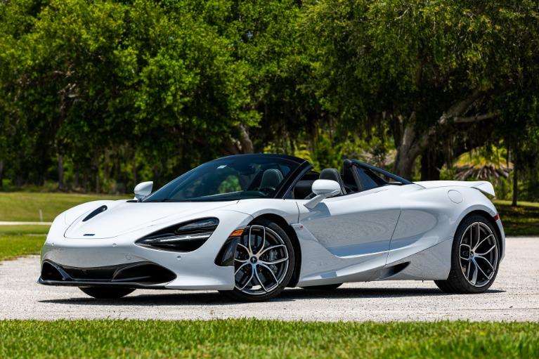 New 2020 McLaren 720S Spider Luxury for sale $364,200 at McLaren Orlando LLC in Titusville FL 32780 1