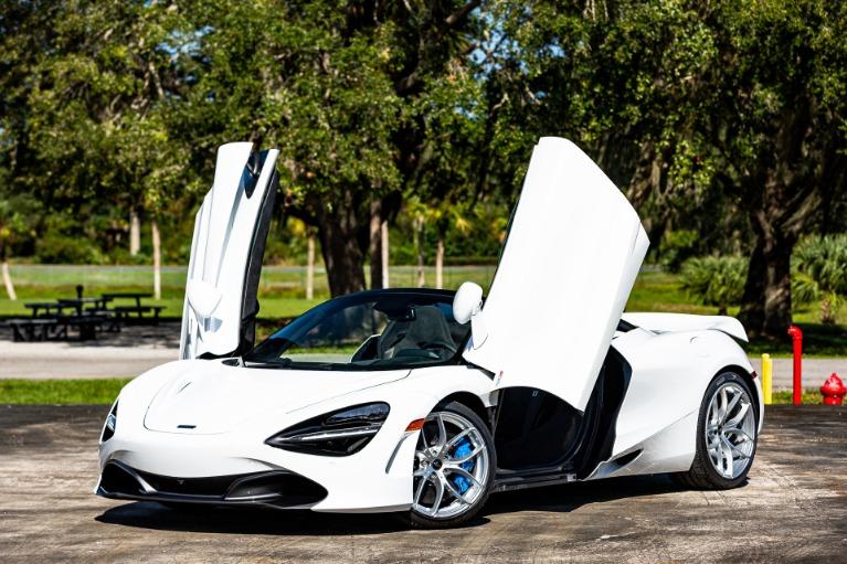 New 2020 McLaren 720S Spider for sale $346,590 at McLaren Orlando LLC in Titusville FL 32780 2