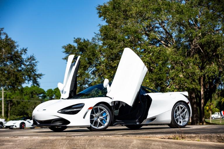 New 2020 McLaren 720S Spider for sale $346,590 at McLaren Orlando LLC in Titusville FL 32780 3