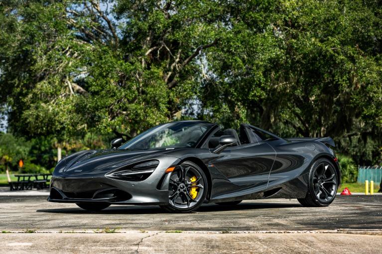 New 2020 McLaren 720S Spider for sale $344,190 at McLaren Orlando LLC in Titusville FL 32780 4