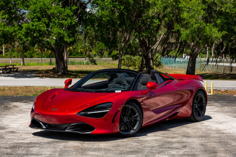 New 2020 McLaren 720S Spider for sale $342,810 at McLaren Orlando LLC in Titusville FL 32780 3