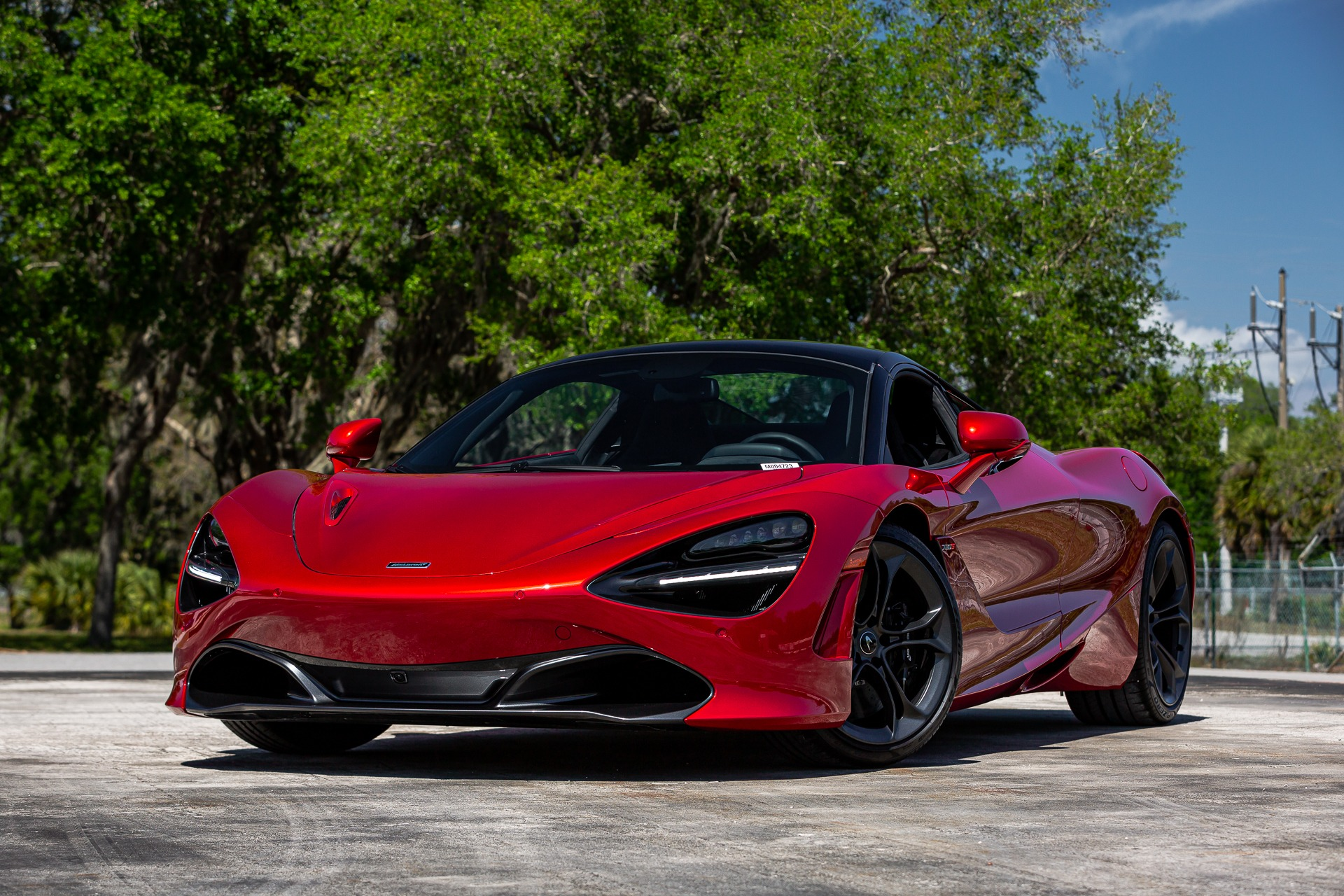 New 2020 McLaren 720S Spider for sale $342,810 at McLaren Orlando LLC in Titusville FL 32780 1