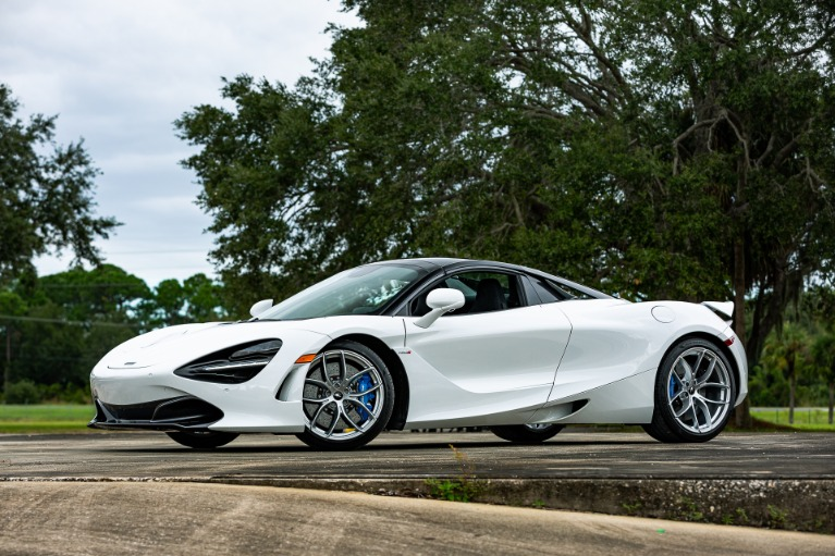 Used 2020 McLaren 720S Spider Base for sale $322,880 at McLaren Orlando LLC in Titusville FL 32780 4