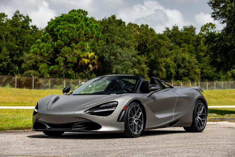 Used 2020 McLaren 720S Spider Performance for sale $347,880 at McLaren Orlando LLC in Titusville FL 32780 4