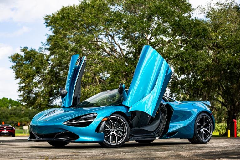 New 2020 McLaren 720S Spider Luxury for sale $386,190 at McLaren Orlando LLC in Titusville FL 32780 4
