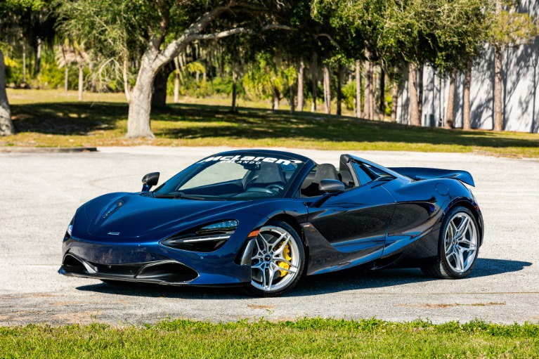 New 2020 McLaren 720S Spider Performance for sale $365,830 at McLaren Orlando LLC in Titusville FL