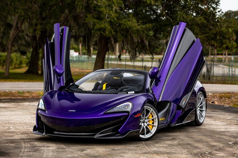 New 2020 McLaren 600LT Spider for sale $316,027 at McLaren Orlando LLC in Titusville FL 32780 2