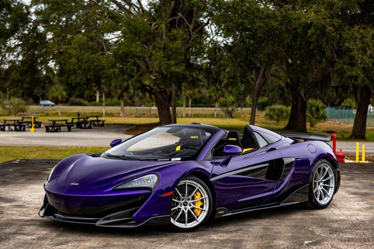 New 2020 McLaren 600LT Spider for sale $316,027 at McLaren Orlando LLC in Titusville FL 32780 3