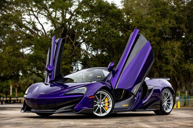 New 2020 McLaren 600LT Spider for sale $316,027 at McLaren Orlando LLC in Titusville FL 32780 4
