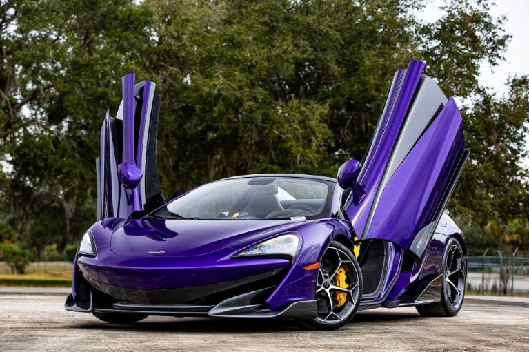 New 2020 McLaren 600LT Spider Base for sale $300,280 at McLaren Orlando LLC in Titusville FL 32780 2