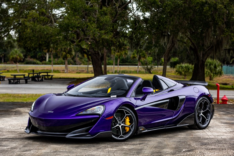 New 2020 McLaren 600LT Spider Base for sale $300,280 at McLaren Orlando LLC in Titusville FL 32780 3