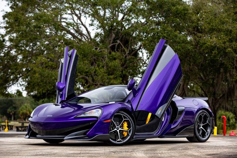 New 2020 McLaren 600LT Spider Base for sale $300,280 at McLaren Orlando LLC in Titusville FL 32780 4
