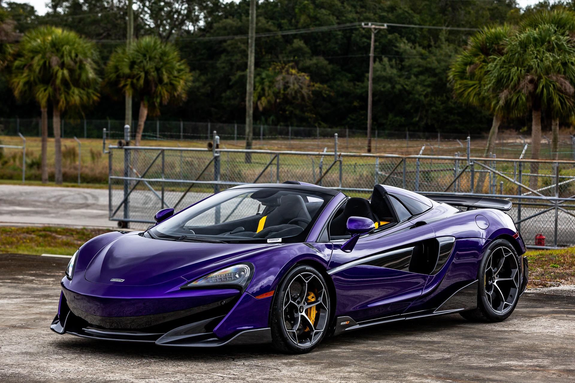 New 2020 McLaren 600LT Spider for sale $300,280 at McLaren Orlando LLC in Titusville FL 32780 1