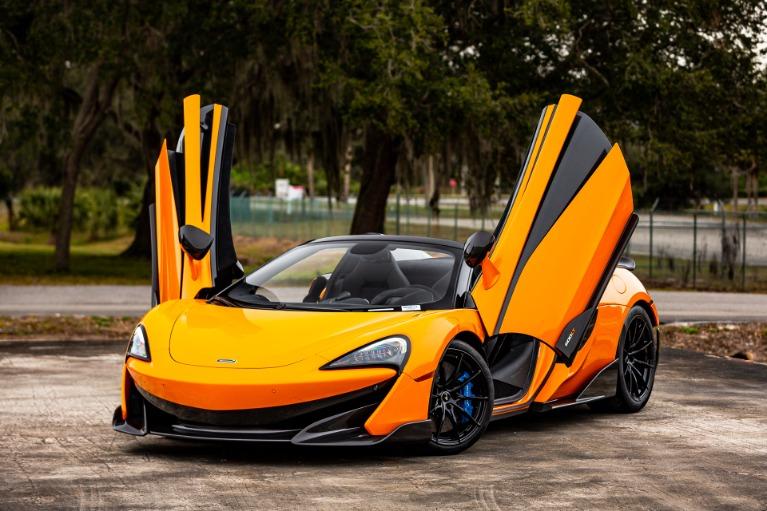 New 2020 McLaren 600LT Spider Base for sale $303,970 at McLaren Orlando LLC in Titusville FL 32780 2