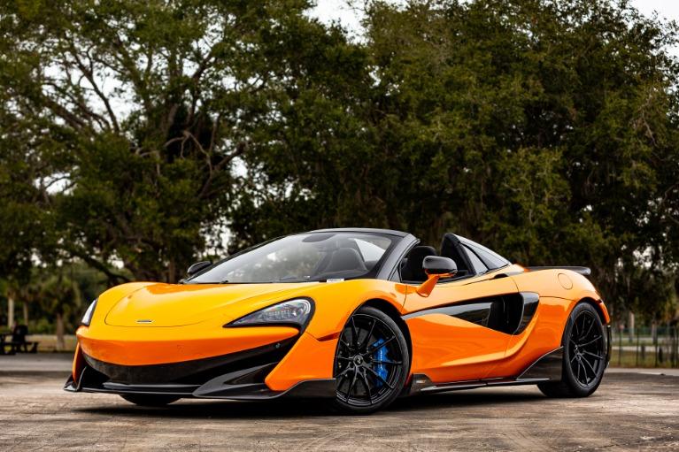 New 2020 McLaren 600LT Spider Base for sale $303,970 at McLaren Orlando LLC in Titusville FL 32780 4