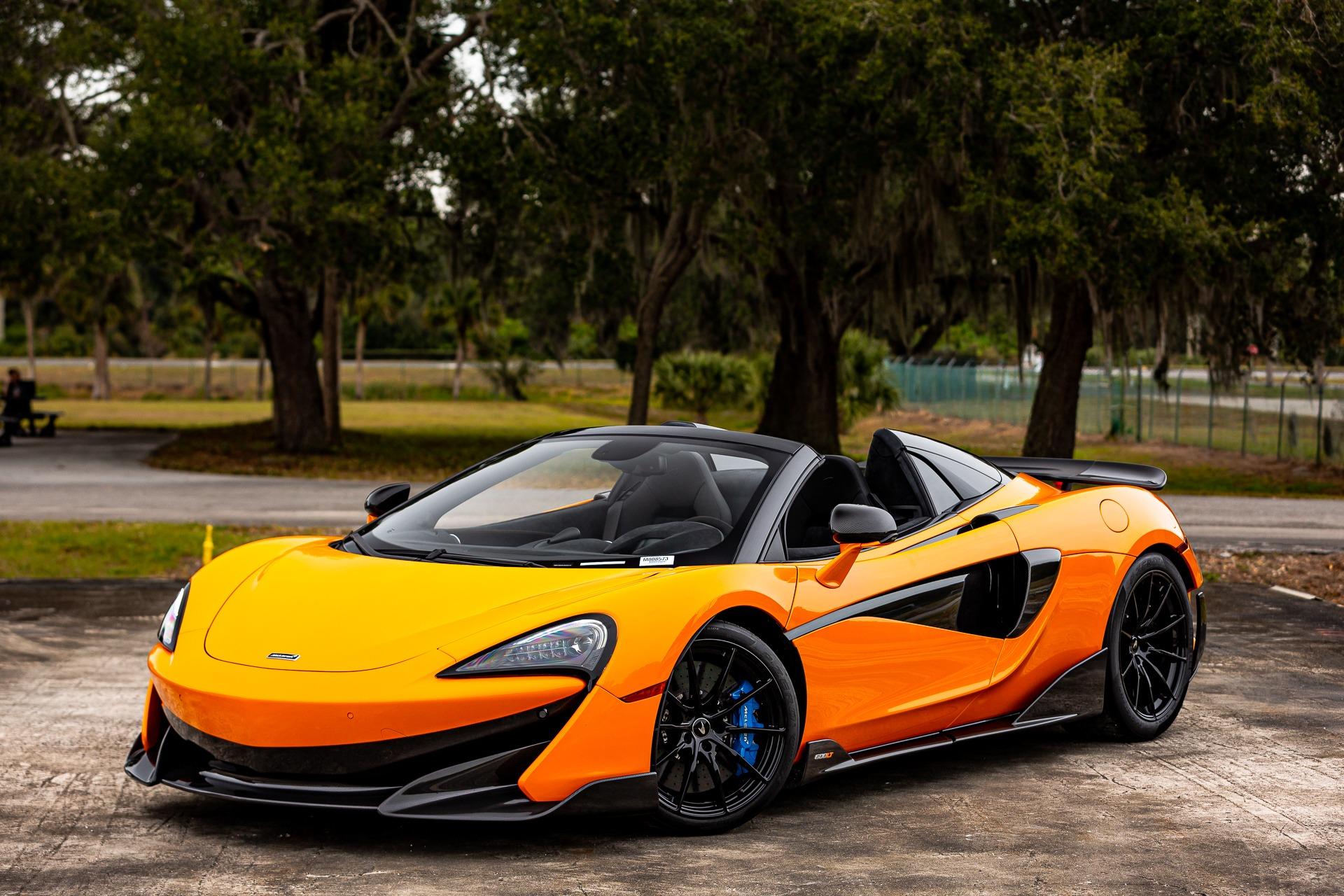 New 2020 McLaren 600LT Spider Base for sale $303,970 at McLaren Orlando LLC in Titusville FL 32780 1