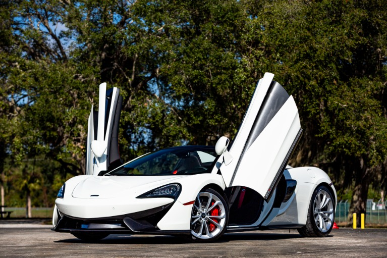 Used 2020 McLaren 570S Spider for sale $198,880 at McLaren Orlando LLC in Titusville FL 32780 2