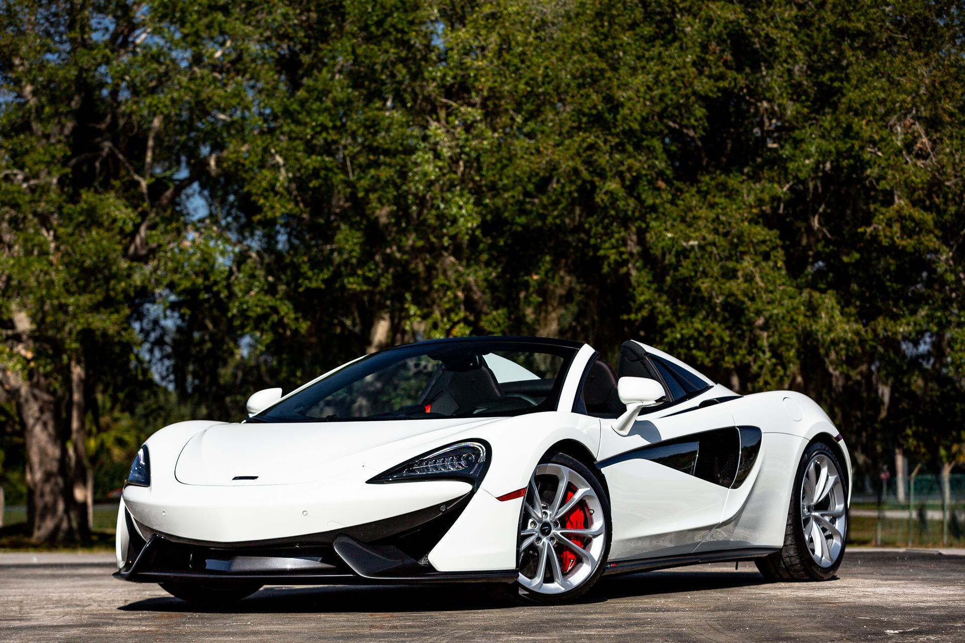 Used 2020 McLaren 570S Spider for sale $198,880 at McLaren Orlando LLC in Titusville FL 32780 1