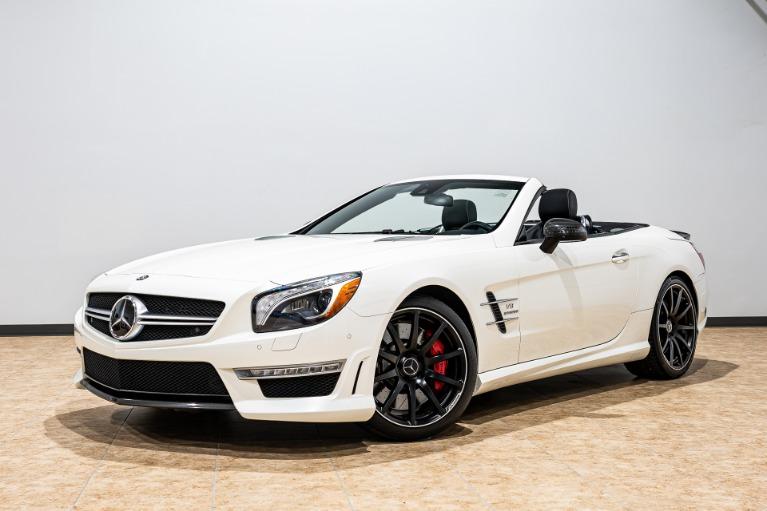 Used 2013 Mercedes-Benz SL-Class SL 63 AMG for sale $57,995 at McLaren Orlando LLC in Titusville FL