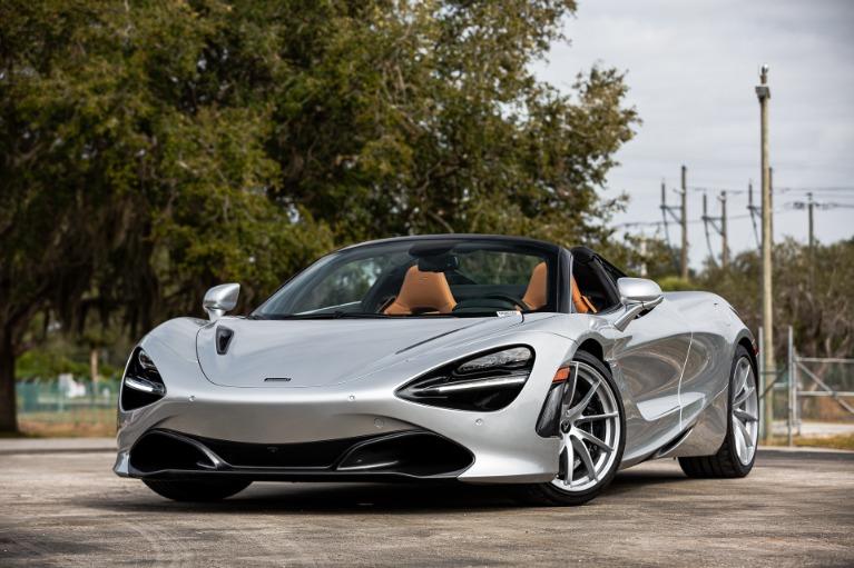 New 2020 McLaren 720S Spider Luxury for sale $361,450 at McLaren Orlando LLC in Titusville FL 32780 3