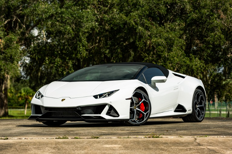 Used 2020 Lamborghini Huracan LP 640-4 EVO Spyder for sale $277,880 at McLaren Orlando LLC in Titusville FL 32780 3