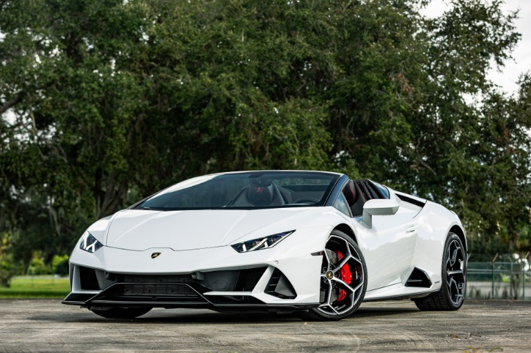 Used 2020 Lamborghini Huracan LP 640-4 EVO Spyder for sale $277,880 at McLaren Orlando LLC in Titusville FL 32780 4