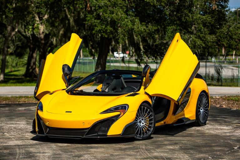 Used 2016 McLaren 675LT Spider for sale Call for price at McLaren Orlando LLC in Titusville FL 32780 2
